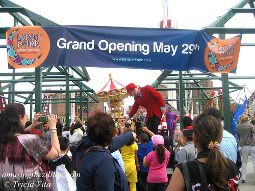 Luna Park's Grand Opening is Saturday, May 29th. Photo © Tricia Vita/me-myself-i