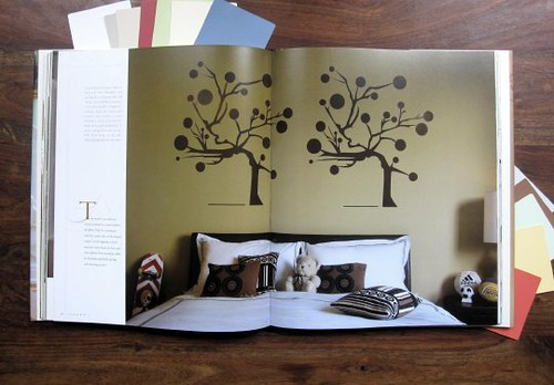 FARROW AND BALL GRAPHIC BEDROOM