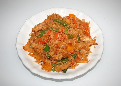 06 - Hähnchen Chakalaka - fertiges Gericht