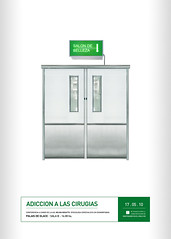 Diseo III Gabriele . Afiche (enaniza) Tags: door hospital puerta surgery diseo afiche gabriele praxis cirugia adiccion retorica