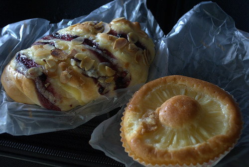 Pastries from Breadtop
