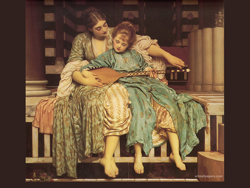 Lord Frederic Leighton, Music Lesson