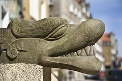 Gargoyle on Mariacka Street, Gdansk (Jarod Carruthers) Tags: street poland gargoyle gdansk mariacka