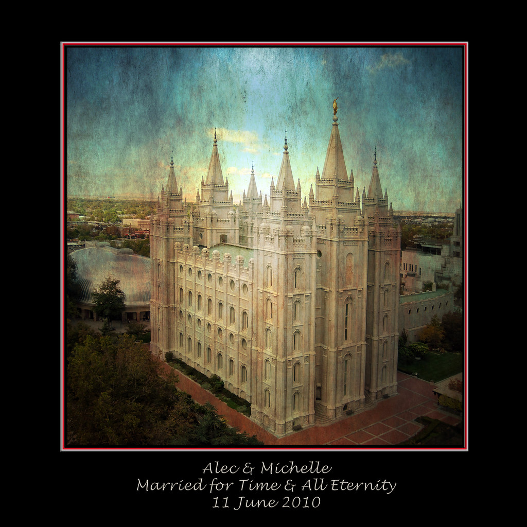 Personalized Temple Prints for Wedding Gifts or Reception Displays