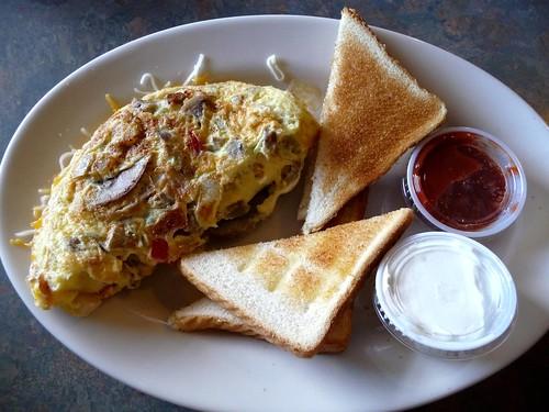 Milton Omelette at Ace's Restaurant - Milton, FL