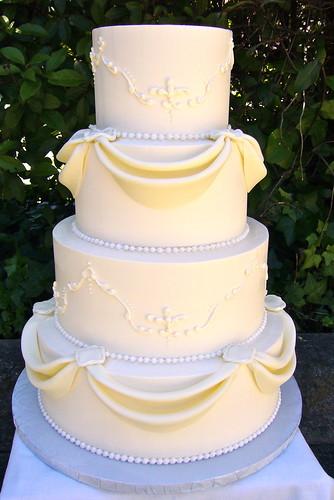 Swags Wedding Cake