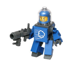 Space Trooper (pasukaru76) Tags: trooper soldier lego space moc hardsuit sigma105mm 39pieces