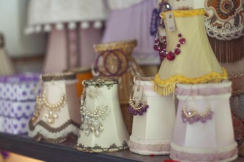 Lampeskjermer er en av spesialitetene til Purpur