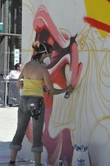 graffiti_013 (Peter-Williams) Tags: street uk art painting graffiti sussex brighton paint artist north spray aerosol airbrush laine jubileesquare