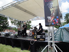 Duke performing at Med Flory Jazz & Blues Fest