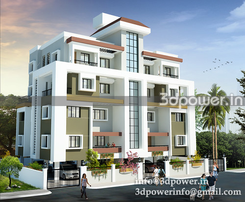 3d modeling_3d rendering_apartment_india_www.3dpower.in_skim2