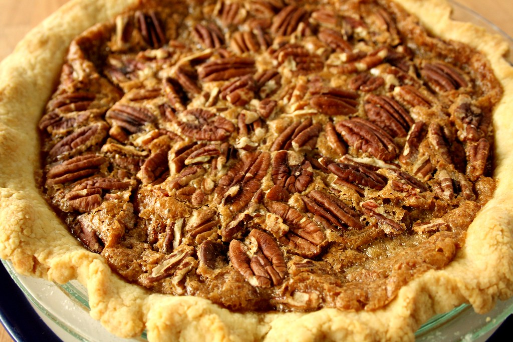Chuck Hughes' Maple Pecan Pie