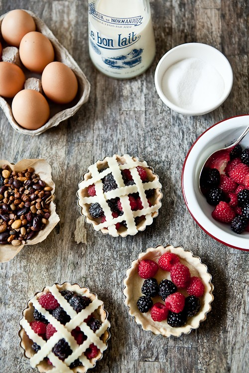 Fresh Berries Tarts