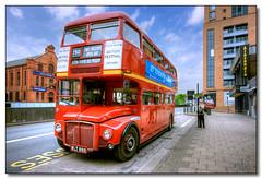 Routemaster in Birmingham (rjt208) Tags: bus heritage classic vintage birmingham transport vehicle routemaster passenger westmidlands conductor londonbus aec wythall supershot alexandratheatre rml898 wlt898 canon400d astonmanortransportmuseum aecroutemaster bammot rjt208