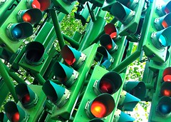 London traffic lights - t2i