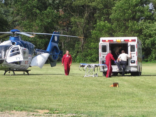 Flourtown makes helicopter medical evacuation