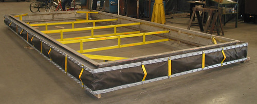 Rectangular Fabric Expansion Joint for Coal Fired Power Plant in Puerto Rico