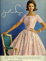 Logan (sugarpie honeybunch) Tags: fashion vintage magazine advertising 60s dress ad 1960s seventeen jonathanlogan