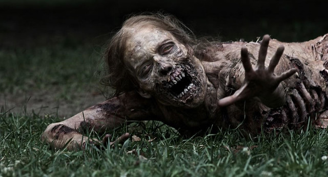 serie The Walking Dead zombie