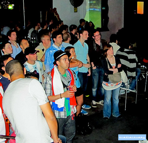Uruguayan football fans in London