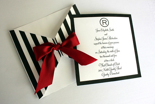 simple black and white wedding. Modern Design Black and White