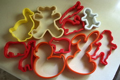#3 plastic fantastic (~ Carly ~) Tags: men bunny halloween club star duck cookie heart shapes diamond cookiecutter cutter spade