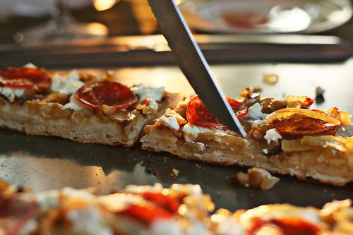 Caramelized Onion And Fresh Ricotta Pizza Savory Bites