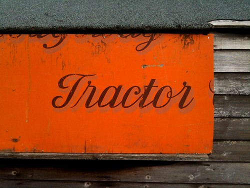 Tractor... somewhere?