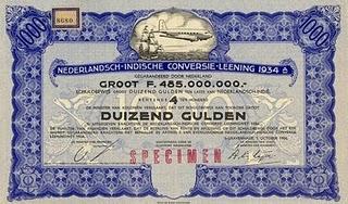 Dutch East Indies certificate