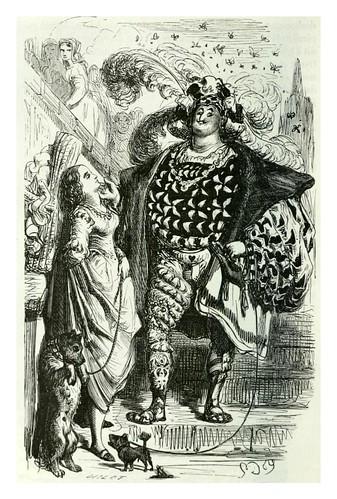 019-La bella hija del portero-Les contes drolatiques…1881- Honoré de Balzac-Ilustraciones Doré