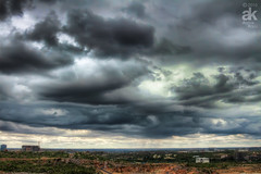 Landscape (Aditya Kolli) Tags: light rain clouds monsoon aditya hyderabad hdr kolli arthas191