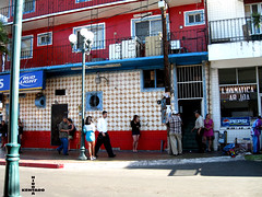 Red Light District (razorcutgarlic) Tags: street city light red streets mexico women district candid prostitute prostitution tijuana hooker prostitutes hookers