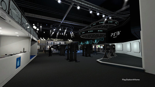 Sony Booth in PlayStation®Home - Front