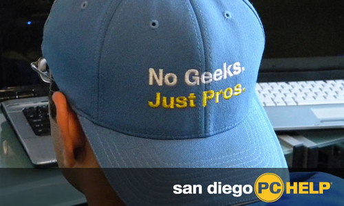 San Diego PC Help: No Geeks.  Just Pros.