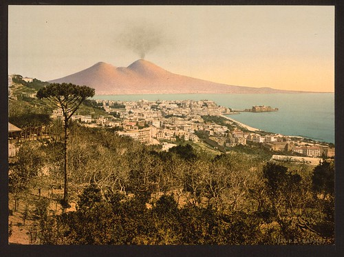 [Milan (i.e. Naples) and Mount Vesuvius I, Italy] (LOC)