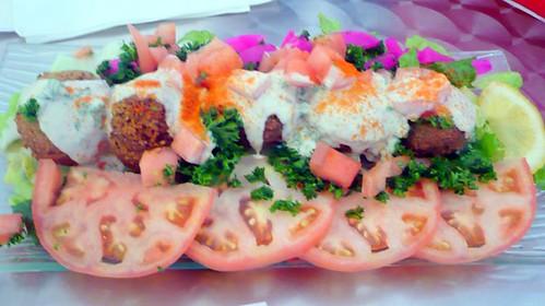 Falafel Platter from Cafe Beirut