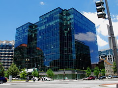 1101 New York Avenue NW (Mr.TinDC) Tags: architecture buildings reflections washingtondc dc officebuildings offices glassbuildings glassboxes