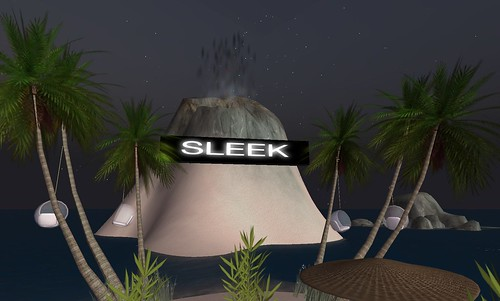 sleek beach club