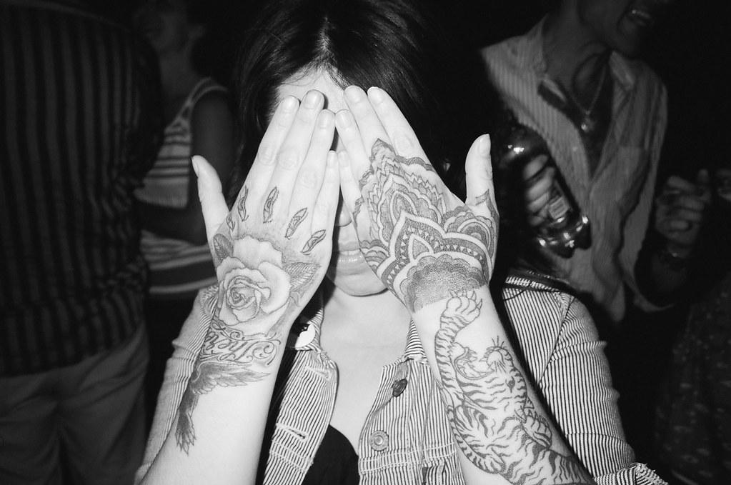 Beautiful Tattooed Hands