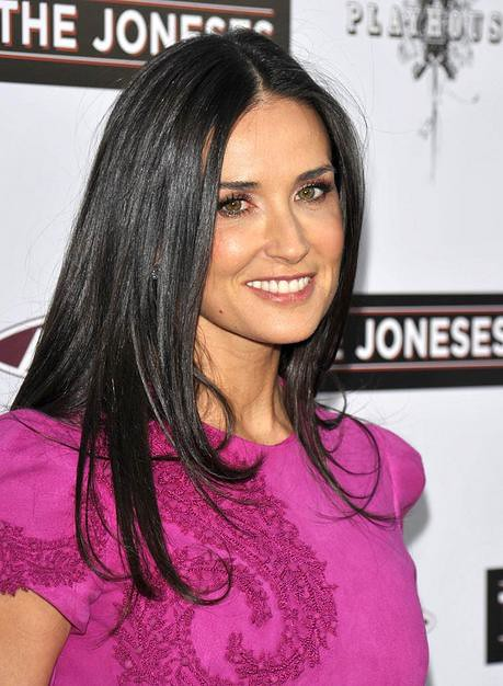 Actress Demi Moore arrives to