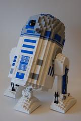 R2-D2 (Dave Shaddix) Tags: lego scuplture r2d2