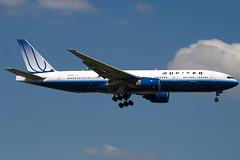 N794UA - 26953 - United Airlines - Boeing 777-222ER - 100617 - Heathrow - Steven Gray - IMG_4729