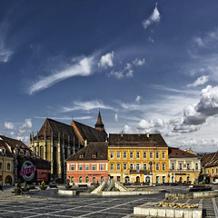 My Brasov (George Nutulescu) Tags: travel history church architecture clouds buildings square nikon day cityscape place pyramid gothic center medieval romania hdr brasov paragon blackchurch d40 imagepoetry artdigital bisericaneagra flickraward vertorama paololivornosfriends specialspictures qualitysurroundings redmatrix oracope magicunicornverybest sailsevenseas coppercloudsilvernsun outstandingromanianphotographers marculescueugendreamsoflightportal flickrthroughyoureyes abokehoflight qualitystructuresppf pwpartlycloudy