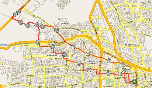 Sat, June 19 bikeride, centro-renca-cerro navia-centro