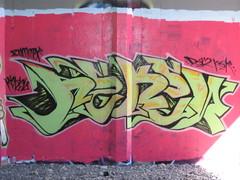 REKEN DSM (DaSkillzManifest) Tags: santa graffiti rosa dsm northbay reken