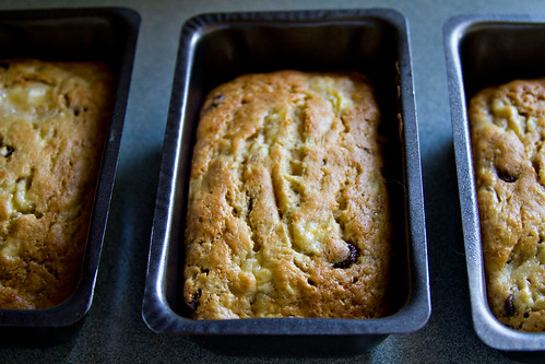Banana Chocolate Chip Bread - 4