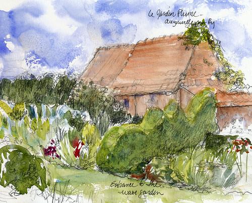 Normandy gardens: Jardin Plume