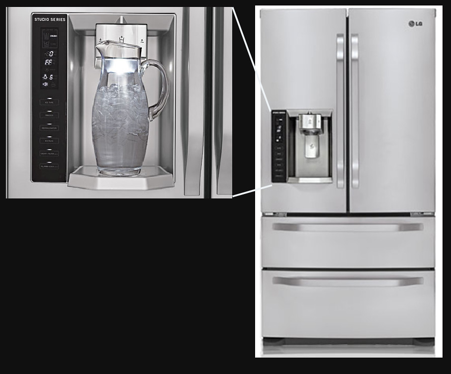 Studio Series-4 Door French Door Refrigerator