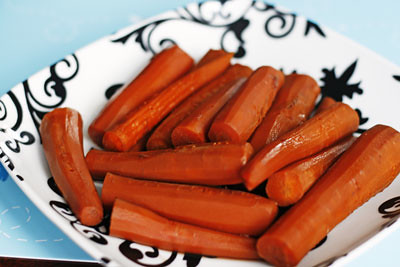 Pomegranate Thyme Carrots