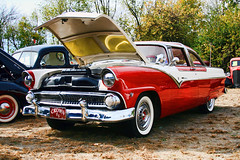 1955 Crown Victoria (will139) Tags: cars ford 1955 indianapolis indiana autos v8 automobiles crownvictoria fomoco